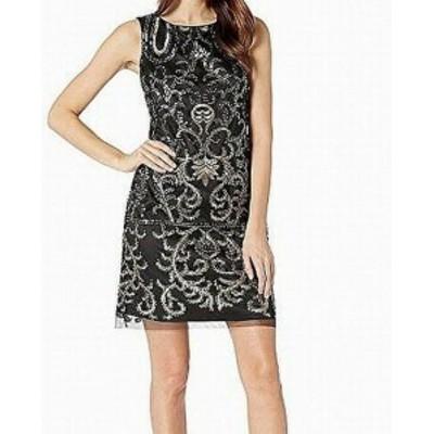 Vince ヴィンス ファッション ドレス Vince Camuto NEW Black Womens Size 10 Sequin Textured Shift Dress