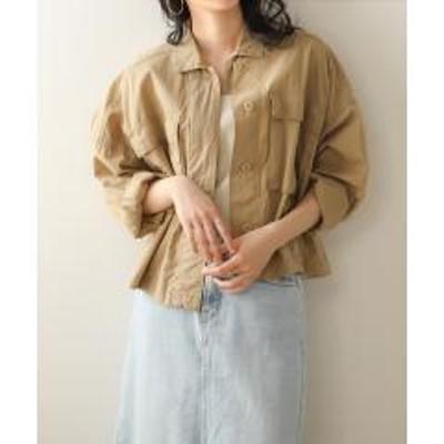 Bou Jeloud(ブージュルード)【WEB限定】ヴィンテージ加工ショートジャケット