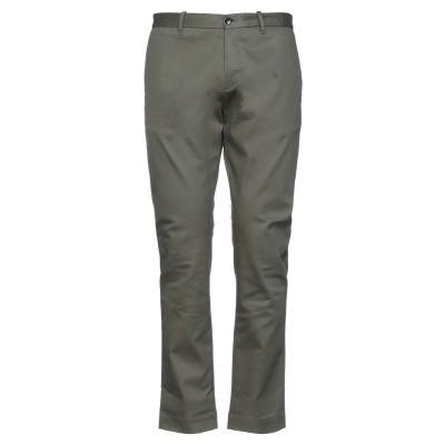 NINE:INTHE:MORNING パンツ ミリタリーグリーン 50 コットン 98% / ポリウレタン 2% パンツ