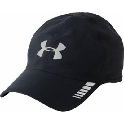 アンダーアーマー メンズ 帽子 アクセサリー Under Armour Men's Launch ArmourVent Running Hat Black/Graphite