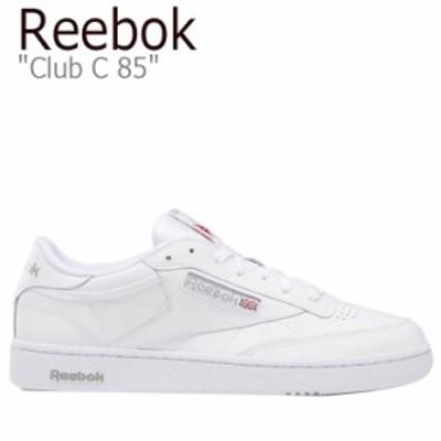 リーボック スニーカー REEBOK メンズ レディース CLUB C 85 クラブC 85 WHITE ホワイト AR0455 シューズ