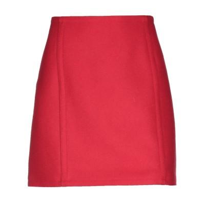 ディースクエアード DSQUARED2 ミニスカート レッド 38 バージンウール 80% / ナイロン 20% ミニスカート