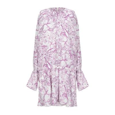ティビ TIBI ミニワンピース&ドレス パープル 0 ポリエステル 100% ミニワンピース&ドレス
