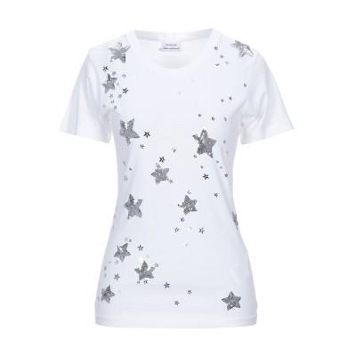 パロッシュ P.A.R.O.S.H. T シャツ ホワイト XS コットン 100% / ポリ塩化ビニル T シャツ
