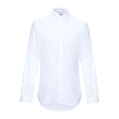 VANGHER N.7 シャツ ホワイト 40 コットン 100% シャツ