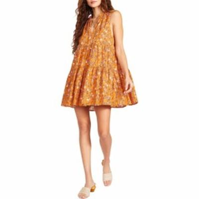 スティーブ マデン BB Dakota x Steve Madden レディース ワンピース ワンピース・ドレス Sunny Disposition Dress Papaya