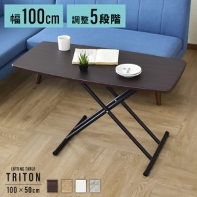 昇降テーブル ダイニングテーブル ダイニング テーブル トリトン100×50 インテリア家具 おすすめ おしゃれ 北欧 三太郎 big_ki プレゼン