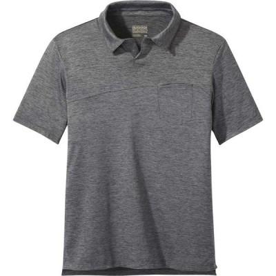 アウトドアリサーチ シャツ メンズ トップス Chain Reaction Polo Shirt - Men's Black Heather