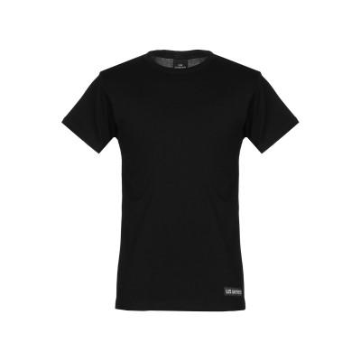 レスアーティスト LES (ART)ISTS T シャツ ブラック S コットン 100% T シャツ