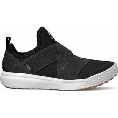 バンズ メンズ スニーカー シューズ Vans UltraRange Gore Slip-On Sneaker Black Textile