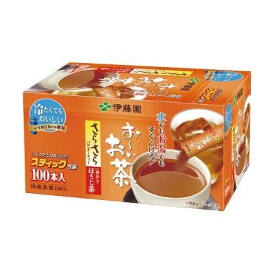 伊藤園 おーいお茶 さらさらほうじ茶 スティック 0.8g 1箱 (100本)