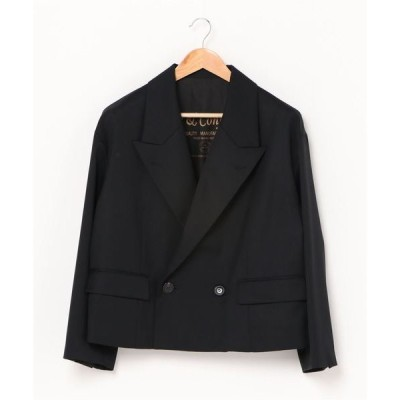 ジャケット テーラードジャケット Robes&Confections/ローブス&コンフェクションズ/Wool Gabardine 2B Double
