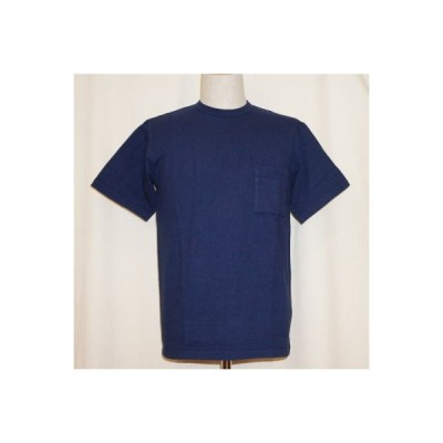 SJST-TPM-ブルー-サムライジーンズ半袖無地袋ポケット付きTシャツ-SJSTTPM-SAMURAIJEANS-サムライジーンズTシャツ-無地Tシャツ