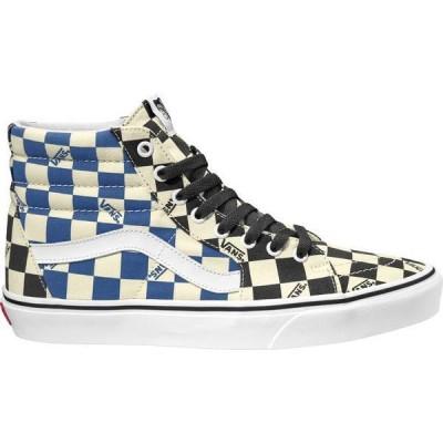バンズ レディース スニーカー シューズ Vans SK8-Hi Big Check Canvas Shoes
