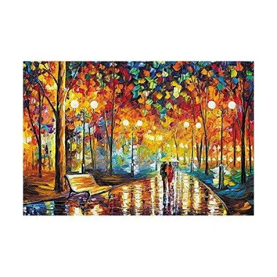 Hand-Painted Oil Painting Series Puzzle Toys,5000 Pieces Puzzles Toys,Wooden Puzzles DIY Portable Unique Gift Home Decor 並行輸入品