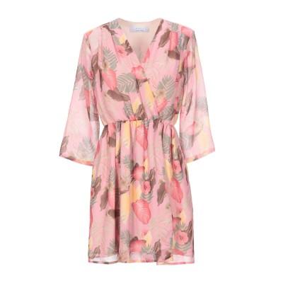 カオス KAOS ミニワンピース&ドレス ピンク 40 ポリエステル 100% ミニワンピース&ドレス