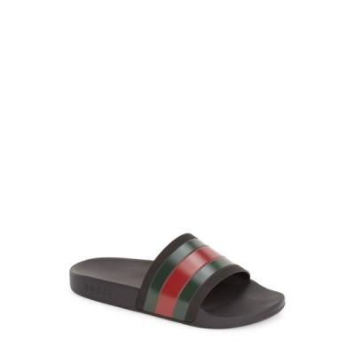 グッチ GUCCI メンズ サンダル シューズ・靴 '72 Sport Slide Black