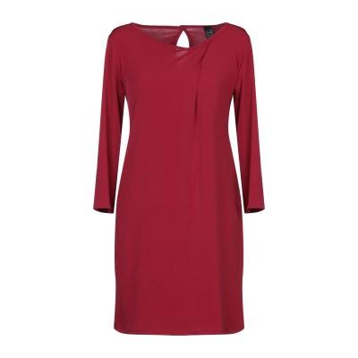 MISS MISS ミニワンピース&ドレス ボルドー S ポリエステル 96% / ポリウレタン 4% ミニワンピース&ドレス