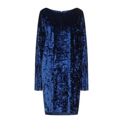 メルシー ..,MERCI ミニワンピース&ドレス ブルー 42 ポリエステル 96% / ポリウレタン 4% ミニワンピース&ドレス