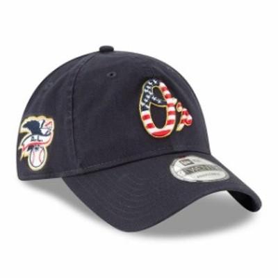 New Era ニュー エラ スポーツ用品  New Era Baltimore Orioles Navy 2018 Stars & Stripes 4th of July 9TWENTY Adjustable Hat
