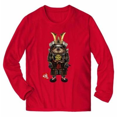 【ナマケモノの赤ちゃん本舗 侍 将軍 日本 JAPAN】メンズ 長袖 Tシャツ by Fox Republic