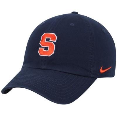ユニセックス スポーツリーグ アメリカ大学スポーツ Syracuse Orange Nike Heritage 86 Logo Performance Adjustable Hat - Navy - OSF