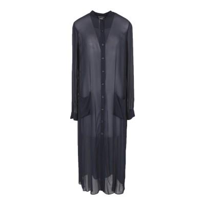 ツインセット シモーナ バルビエリ TWINSET 7分丈ワンピース・ドレス ダークブルー 42 100% レーヨン 7分丈ワンピース・ドレス