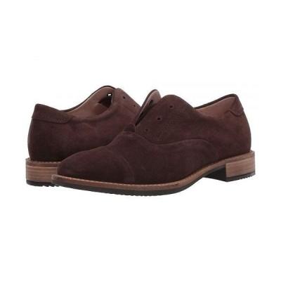 ECCO エコー レディース 女性用 シューズ 靴 ローファー ボートシューズ Sartorelle 25 Tailored Slip-On - Coffee