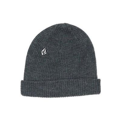ボルコム 帽子 ハット ビーニー ニット帽 Volcom - Volcom ビーニー - Full ストーン - チャコール ワンサイズ