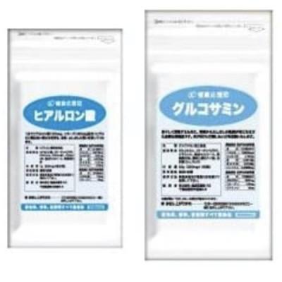 節々快適セット ヒアルロン酸&グルコサミン お徳用3か月分 3袋+3袋セット グルコサミン ヒアルロン酸 ビタミンC コラーゲン