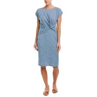 ジョーンズニューヨーク レディース ワンピース トップス Jones New York Maxi Dress chambray wash stripe