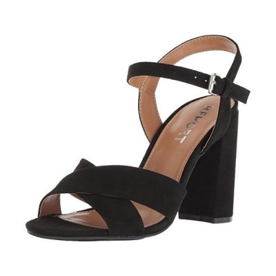 Report  Women's Warrick Sandal  Black  Size 10.0 並行輸入品