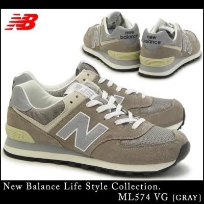 new balance ニューバランス ML574 VG (幅:D)(GRAY) ランニング シューズ Classic Style (メンズ)