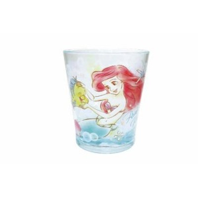 【ディズニープリンセス】カラークリスタルカップ【アリエル】【人魚姫】【リトルマーメイド】【姫】【コップ】【カップ】【アクリル】【