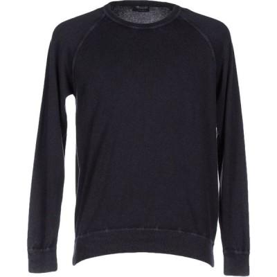 ドルモア DRUMOHR メンズ ニット・セーター トップス cashmere blend Dark blue
