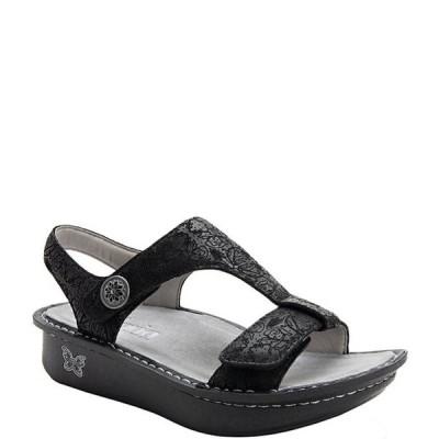 アレグリア レディース サンダル シューズ Kerri Trellis Printed Leather Sandals
