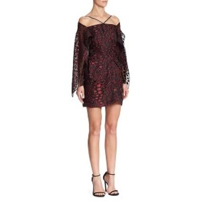 ローラン・ムレ レディース ワンピース トップス Roland Mouret Off-The-Shoulder Mini Dress black