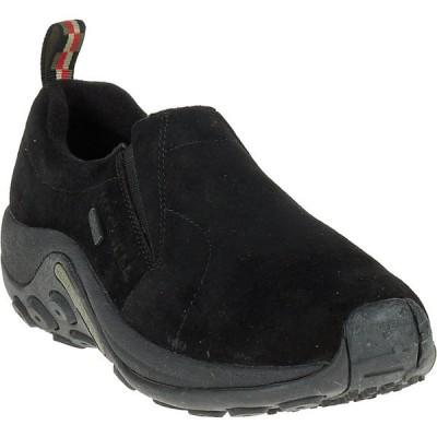 メレル スニーカー メンズ シューズ Merrell Men's Jungle Moc Waterproof Shoe Black