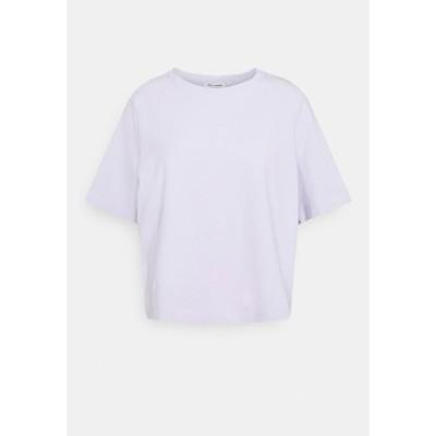 ウィークデイ Tシャツ レディース トップス TRISH - Basic T-shirt - lilac