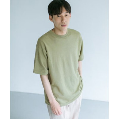 UR TECH 抗菌 リネンニットTシャツ