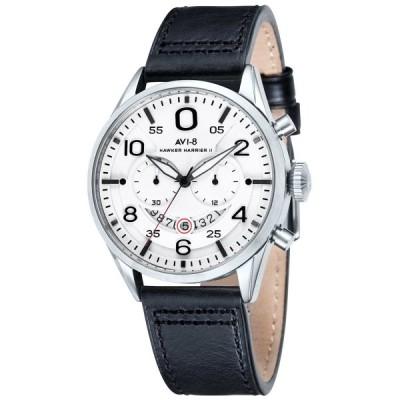 AVI-8 アヴィエイト 電池式クォーツ 腕時計 メンズ ケース幅:46mm 品番:AV-4031-01