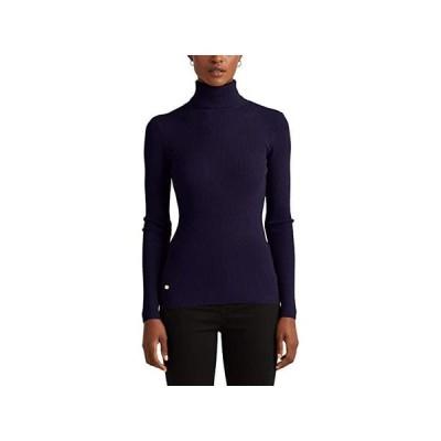 LAUREN Ralph Lauren Petite Turtleneck Sweater レディース セーター Lauren Navy