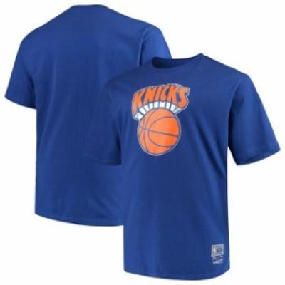 Mitchell & Ness ミッチェル アンド ネス スポーツ用品  Mitchell & Ness New York Knicks Royal Big & Tall Hardwood Classics Throwbac