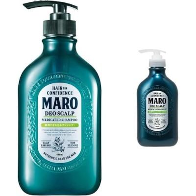 セット買いMARO 薬用 デオスカルプ シャンプー 480ml 医薬部外品+MARO 薬用 デオスカ