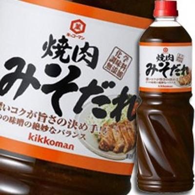 【送料無料】キッコーマン 焼肉みそだれペットボトル1180g×1ケース(全6本)
