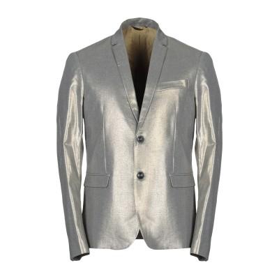 パトリツィア ペペ PATRIZIA PEPE テーラードジャケット グレー 48 ポリエステル 63% / レーヨン 35% / ポリウレタン 2