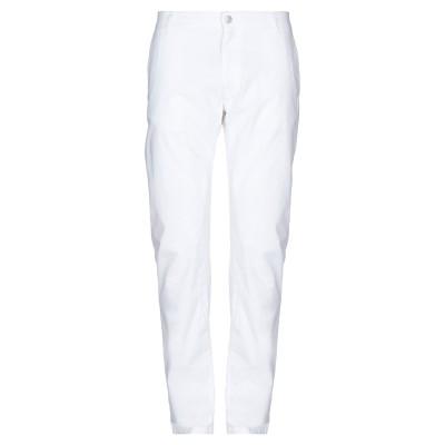 ダニエル アレッサンドリーニ DANIELE ALESSANDRINI パンツ ホワイト 36 コットン 98% / ポリウレタン 2% パンツ