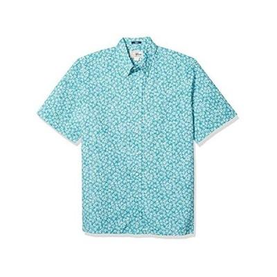 Reyn Spooner Men's M503512520, Kiko Blooms - Teal Blue, L