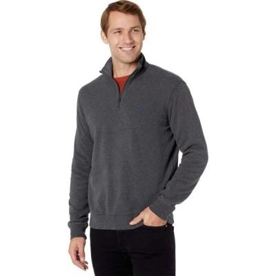 ラルフ ローレン Polo Ralph Lauren メンズ トップス ハーフジップ Long Sleeve Lux Jersey 1/2 Zip Dark Grey Heather
