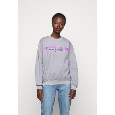 トップショップ レディース パーカー・スウェットシャツ アウター SPORTS CLUB - Sweatshirt - grey grey